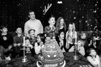 Aniversário Infantil de Aniversário de cinco anos do Arthur