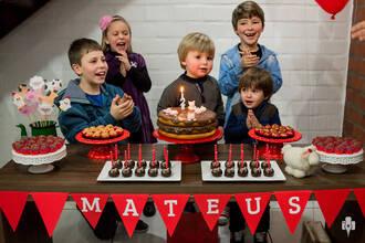 Aniversário Infantil de Aniversário de 2 anos de Mateus