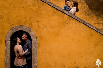 Família de ENSAIO FOTOGRÁFICO DE FAMÍLIA EM PORTUGAL   FABIANA, WILSON, LUISA E HENRIQUE