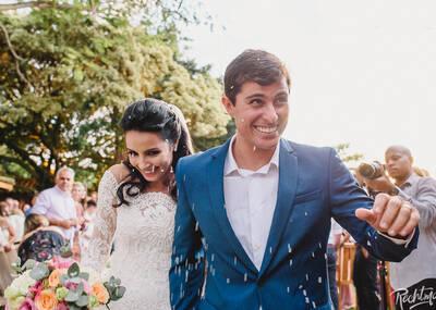 Casamentos de Louise e Diogo
