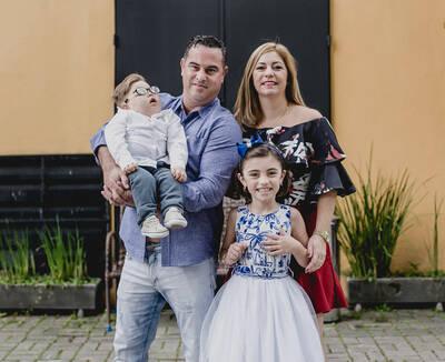 Mariana 8 anos & Felipe 3 anos