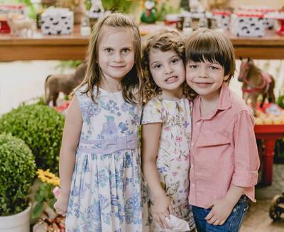 Catarina, Isadora & Antonio - 5 anos