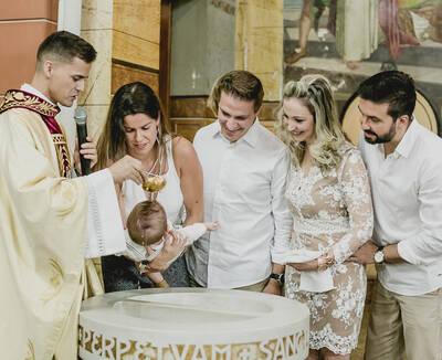 Batizado do Leonardo