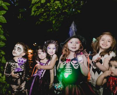 Halloween na casa da Camilla