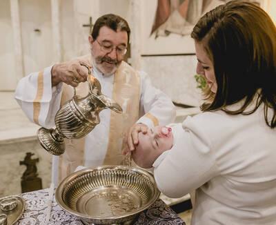 Maria Isabel - Batizado