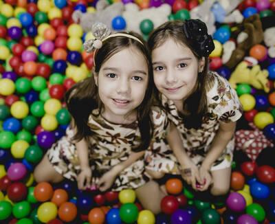 Maria Helena & Maria Clara 7 anos