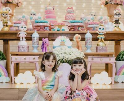 Manuela & Júlia 6 anos