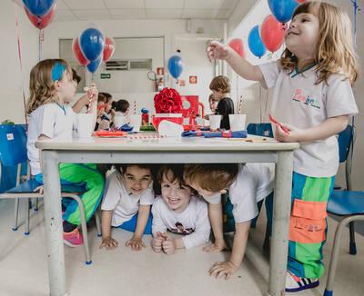 Pedro 4 anos - Festa na Escola