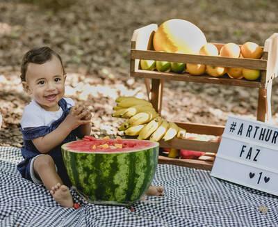 Arthur - Ensaio Família + Smash the Fruit