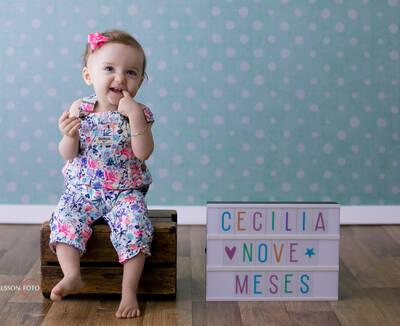 Cecília | 9 meses