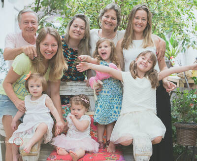 Bruna & Família