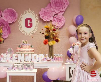 Aniversário 8 Anos Glennda