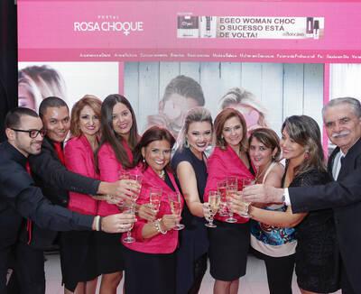 Lançamento Portal Rosa Choque