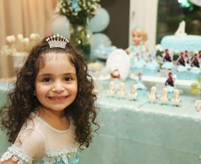 Aniversário 4 Anos Camila