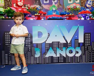 Aniversário Davi 3 Anos