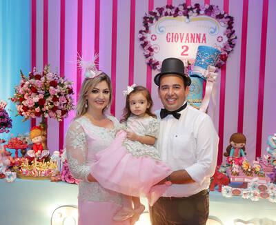 Aniversário Giovanna 2 Anos