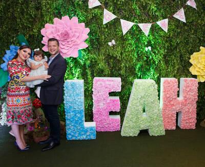 Aniversário 1 Ano Leah