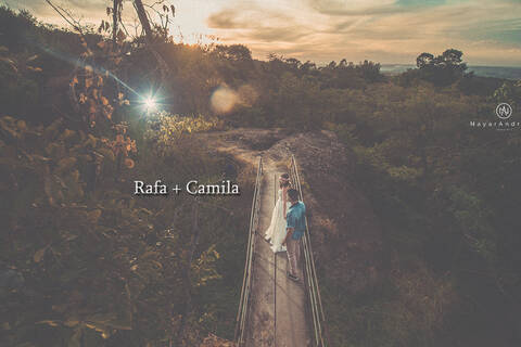pré-wedding de Rafa + Camila