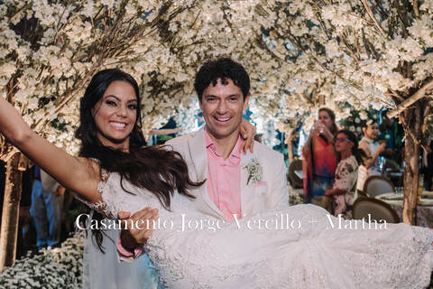 casamento de Jorge Vercillo & Martha