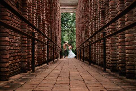 Pré casamento em Inhotim de Alice e Osvaldo