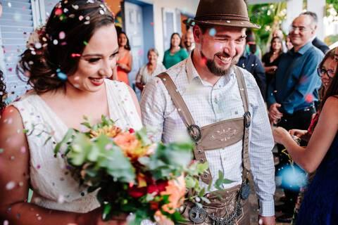 Casamento  de Luiza e Kássio