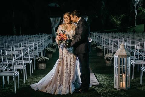 Casamento de Aline + Wagner