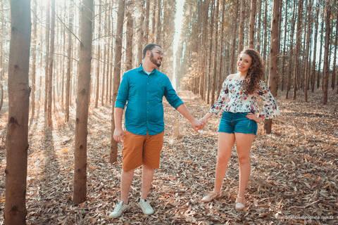 Pré Casamento de Tágila e Fabiano