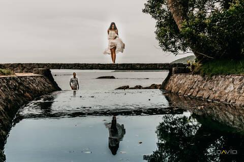 Fernando & Gustavo de Pré-Wedding Praia