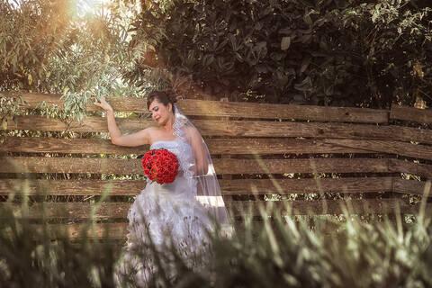 Ensaio da Noiva de Andrea Bibiana