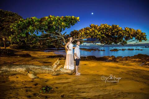 Prè-Wedding (amanhecer 5hs da madruga) de Caroline & Lyon