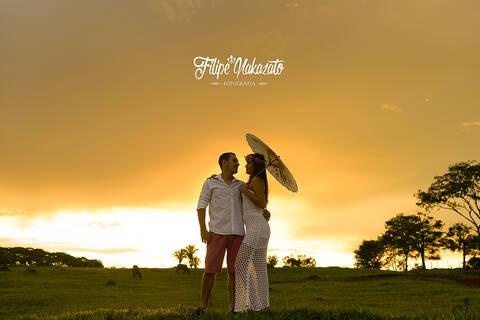 Ensaios de Aline e Marcelo