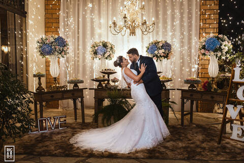 Casamento realizado na Spazzo Villa Regia de Casamento Thabatta + Jorge