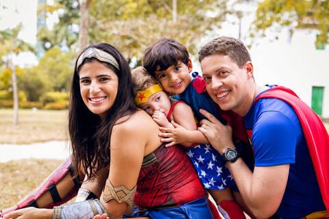 ENSAIO FAMILIA de SUPER HEROES