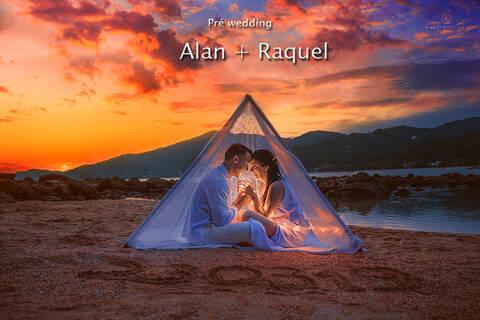 pre wedding de Alan + Raquel