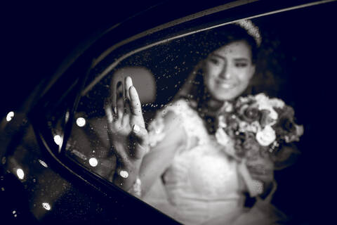 Casamento de Carro da Noiva