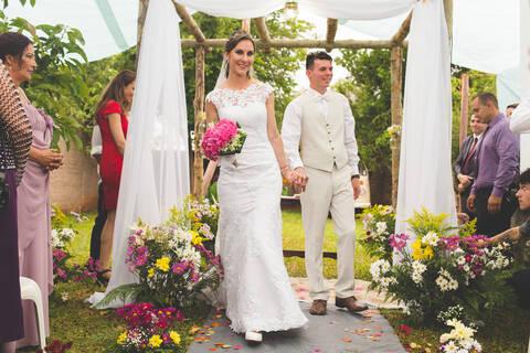 casamento de Paula e Carlos