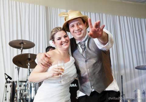 Casamentos de Letícia e Fauze