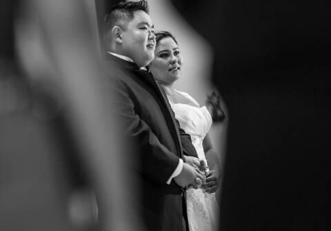 Casamentos de Tiene e Edson