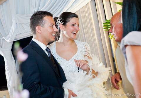 Casamentos de Waldenize e Cláudio
