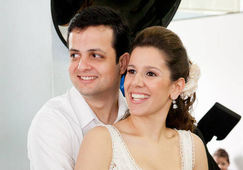 Casamentos de Vivien e Carlos