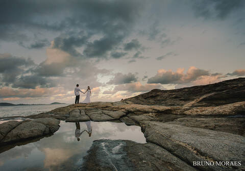 Trash the Dress de DANIELLE + FELIPE