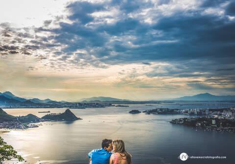 Ensaios de Ensaio pré-casamento Sheyla & Fabio - Niterói - RJ