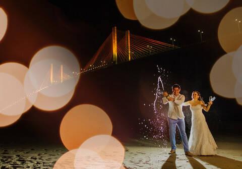Casamentos de Michelle e Fernando