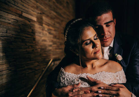 Casamentos de Aline e Richardson