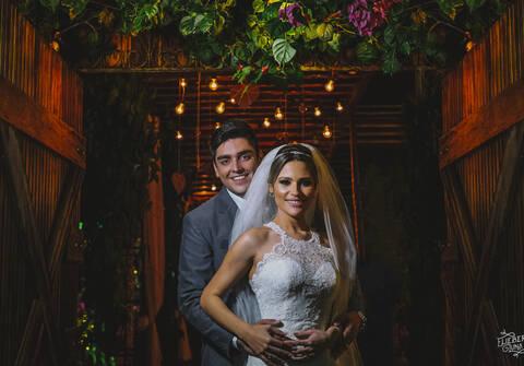 Casamentos de Ana Cláudia e Sioney