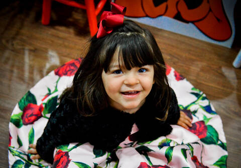Aniversários de Luisa  3 anos