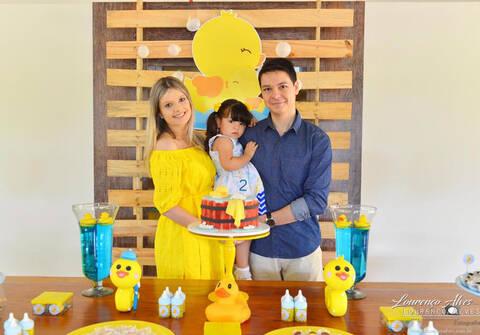 Aniversários de Chá do João e Aniversário Luiza 2 anos