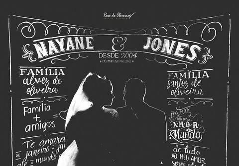 Casamento de Nayane e Jones