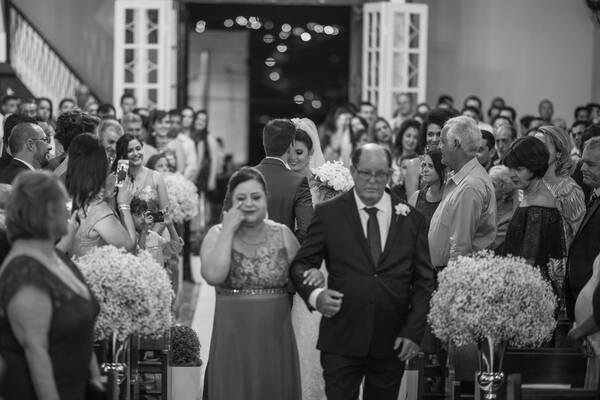 Casamentos de Cláudia e wender