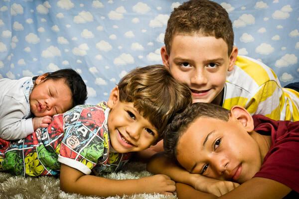 BABIES'N'KIDS de Ensaio dos 4 irmãos